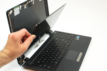 mantenimiento y reparación de Laptops